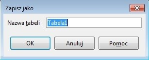 nazwa tabeli base