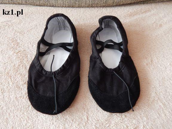 baletki z materiału
