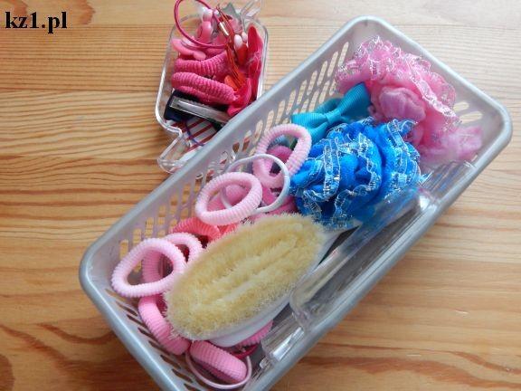 gumki i spinki do włosów