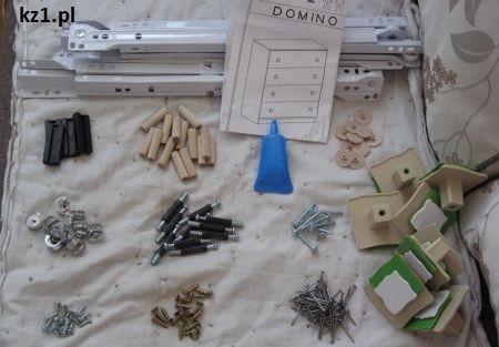 części do montażu mebli