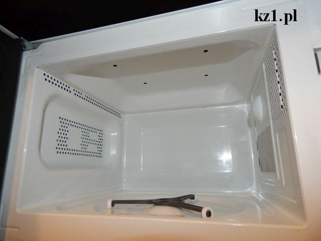 czysta kuchenka mikrofalowa