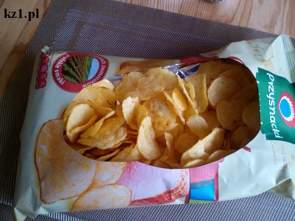 miska do chipsów z opakowania