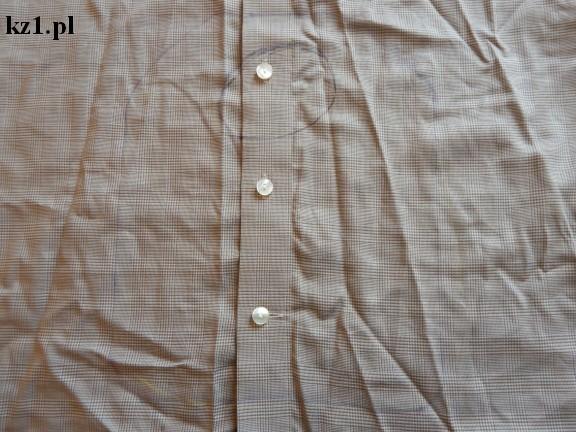 koszula męska z wyrysowanym wzorem śliniaka