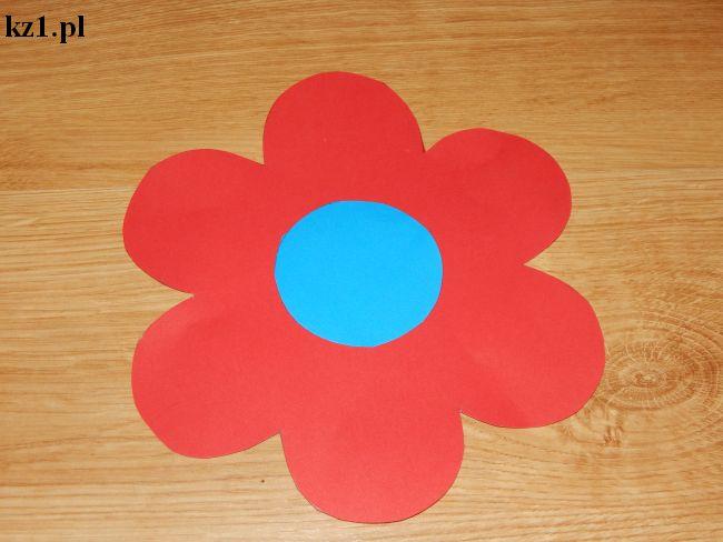 szablon kwiatów