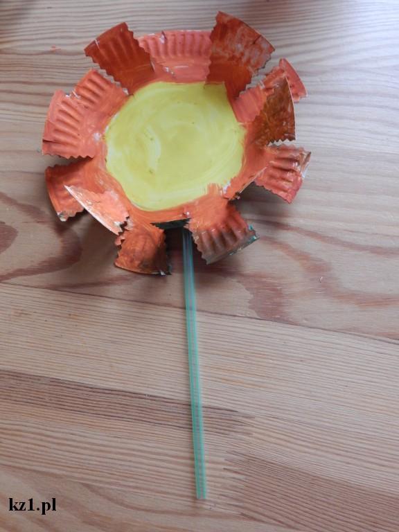 laurka kwiatek z talerzyka