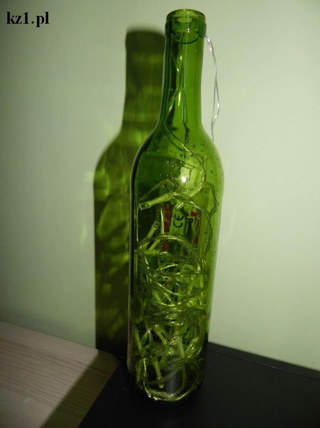 lampka z butelki