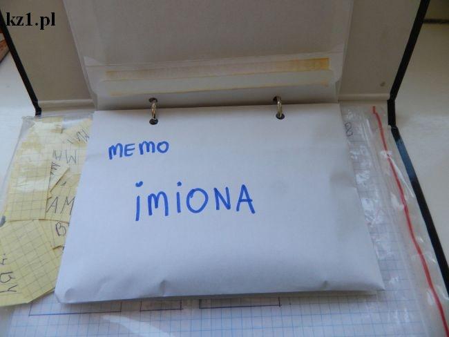 gra memory imiona