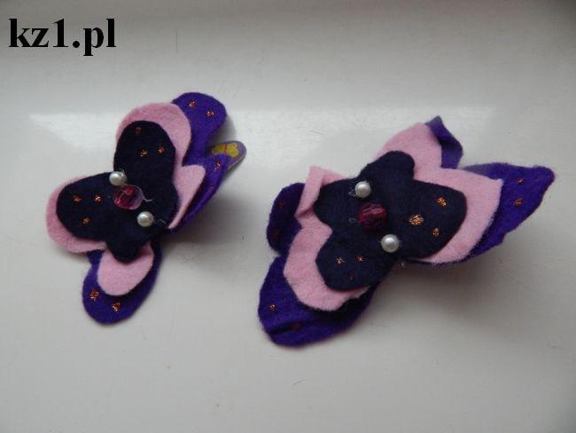 spinki motyle