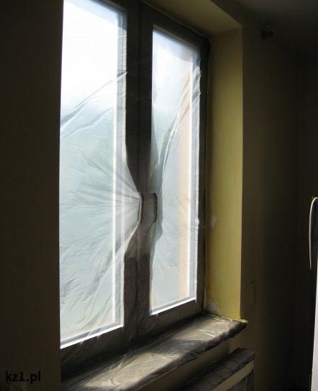 okno malowanie