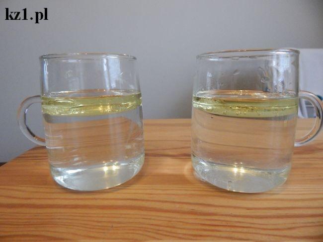 olej na wodzie