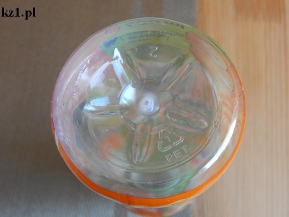 oznaczenie 1 na butelce plastikowej