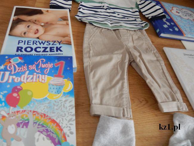 pamiątki z pierwszego roku życia dziecka
