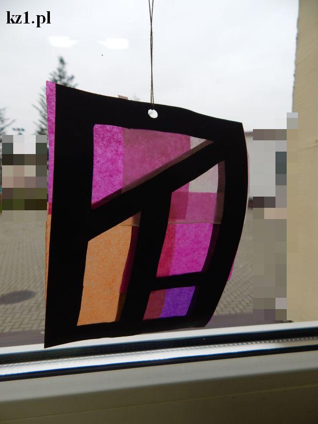 witraż dla dzieci na okno