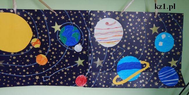 planety w układzie słonecznym praca dla dzieci