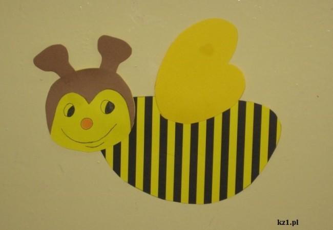 pszczoła praca plastyczna