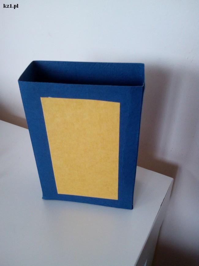 pudełko na zakładki do książek