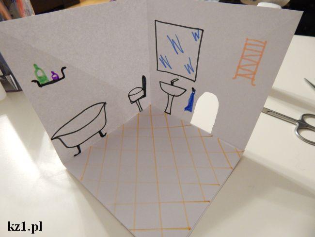 rysunek łazienka