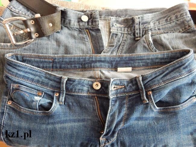 zapięcie w spodniach damskich i męskich