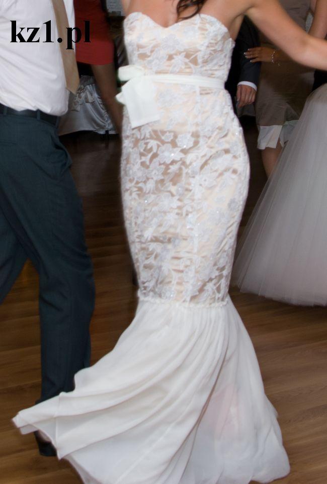 sukienka wieczorowa biała
