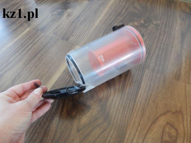 pojemnik na zanieczyszczenia z filtrem HEPA