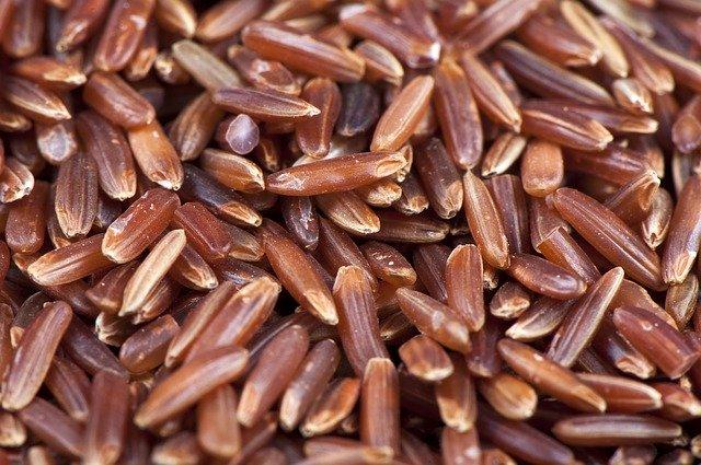 ryż czerwony