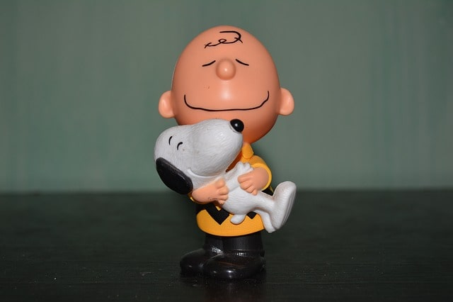 charlie brown i snoopy