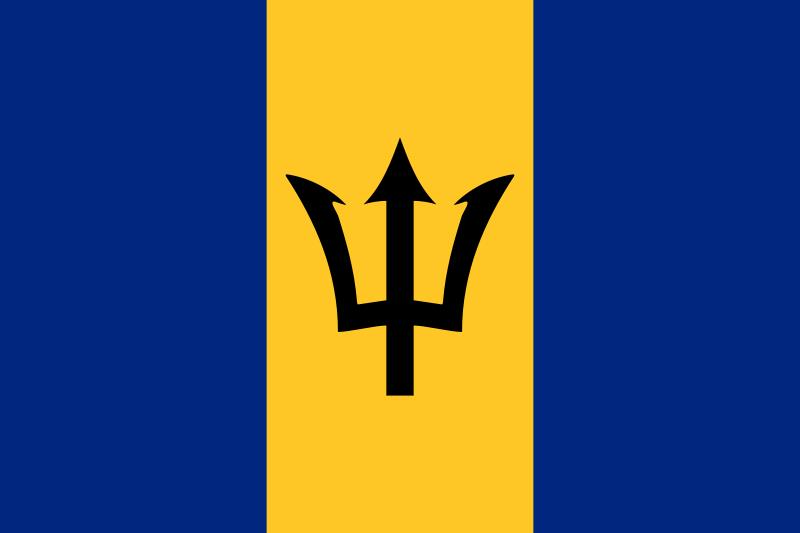 flaga barbadosu