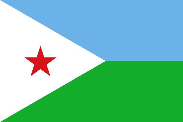 flaga dżibutii