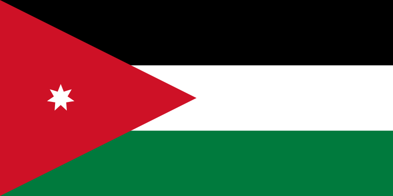 flaga jordanii