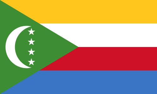 flaga komorów