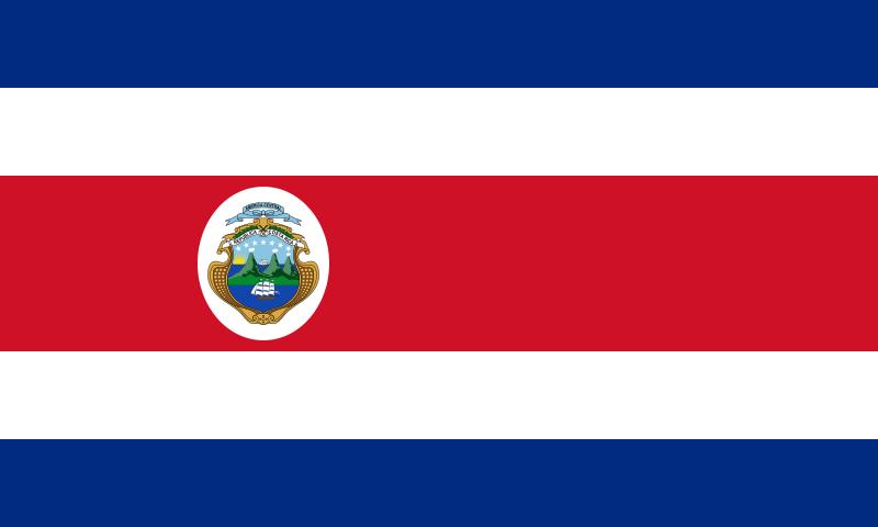 flaga kostaryki