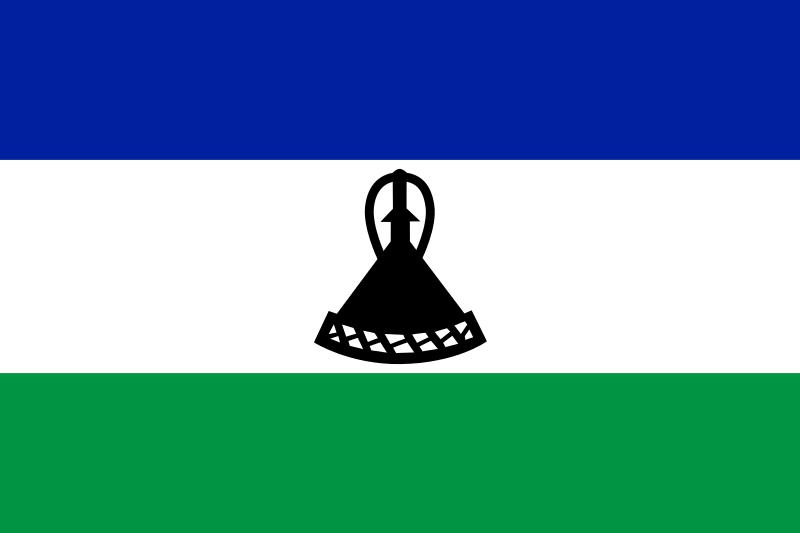 flaga lesotho