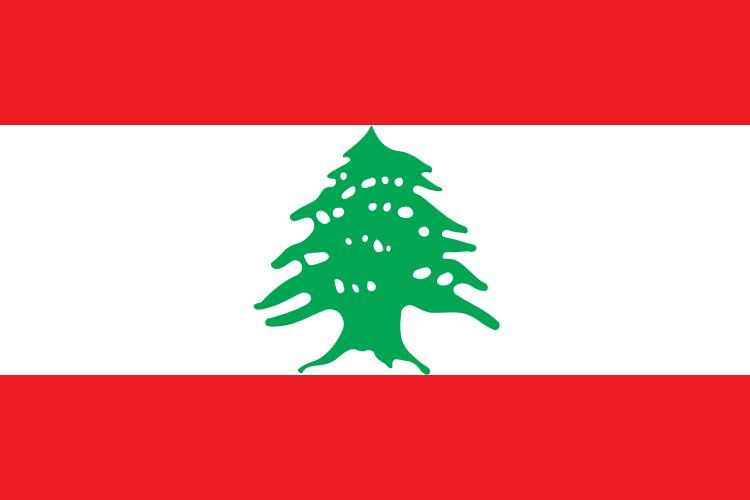 flaga libanu