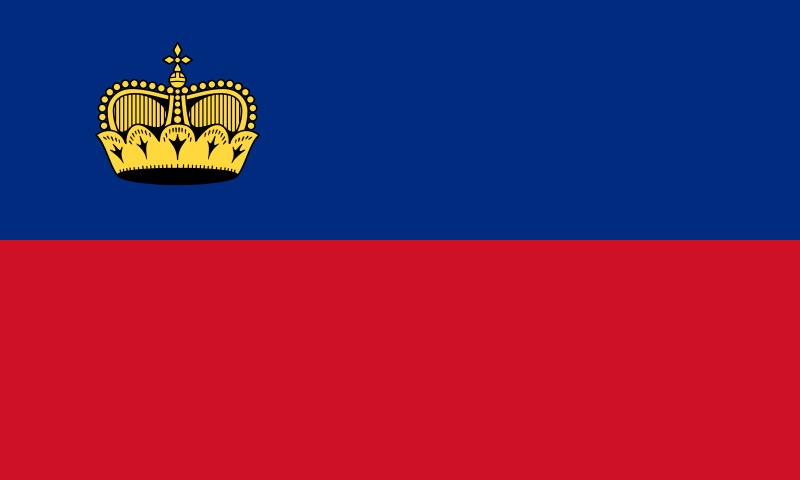 flaga lichtensteinu