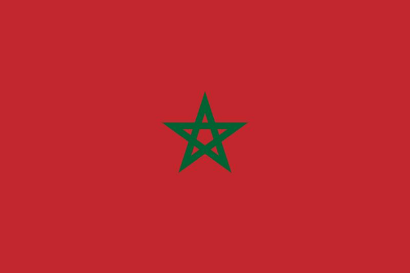 flaga maroko