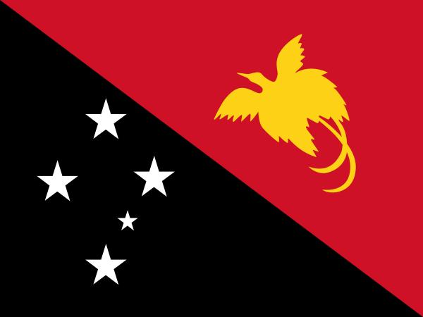 flaga papua nowej gwinei