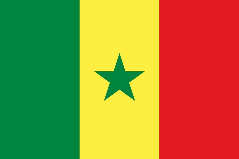 flaga senegalu