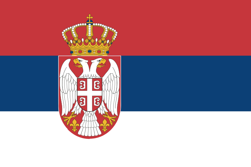 flaga serbii