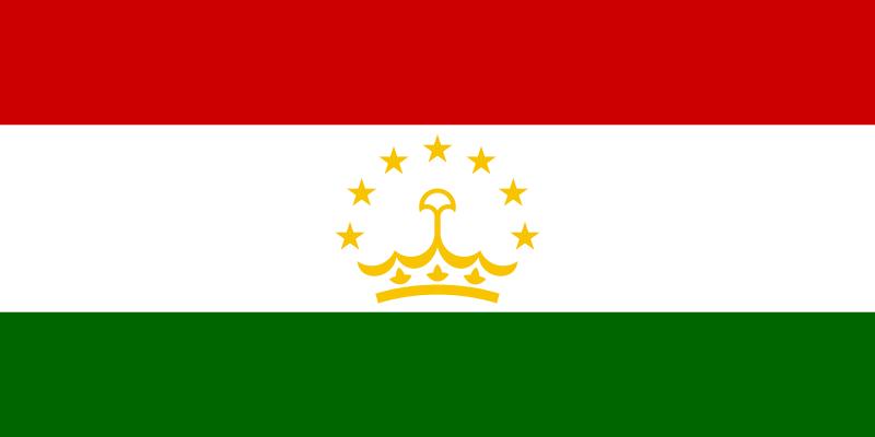 flaga tadżykistanu