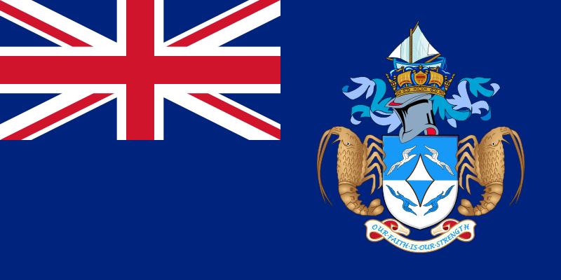 flaga Tristan da Cunha