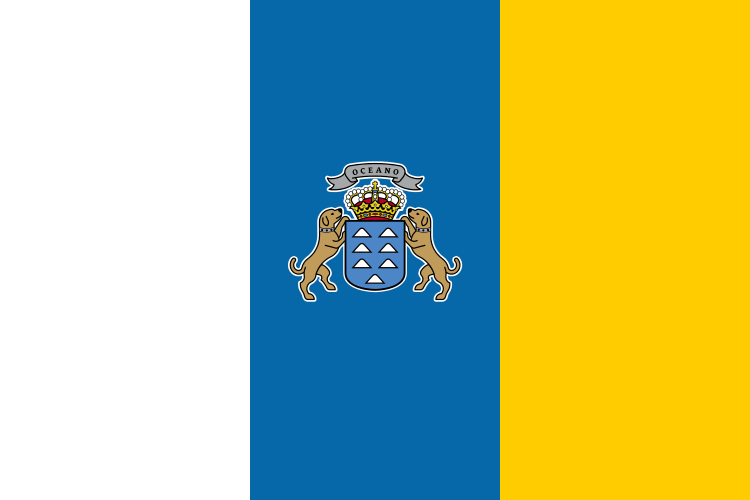 flaga wysp kanaryjskich