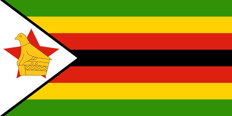 flaga zimbabwe