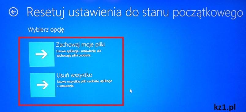 freepc przywracanie systemu windows 10