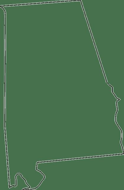 alabama mapa