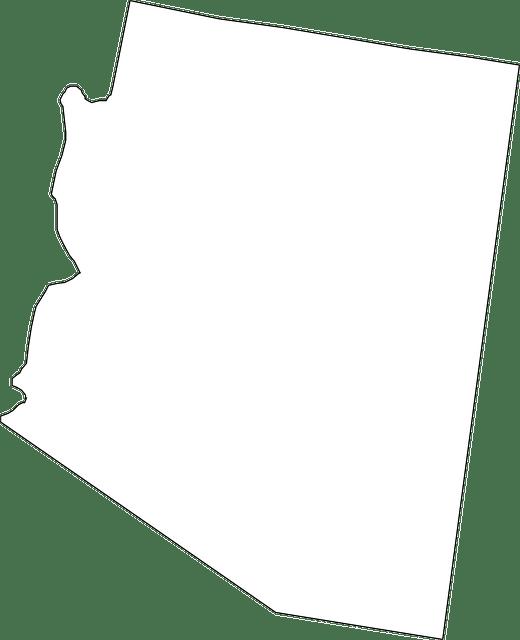arizona mapa