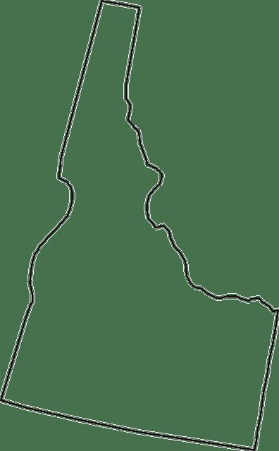 idaho mapa