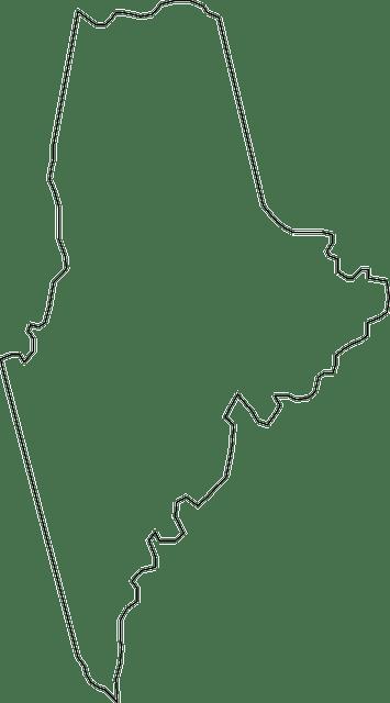 maine mapa