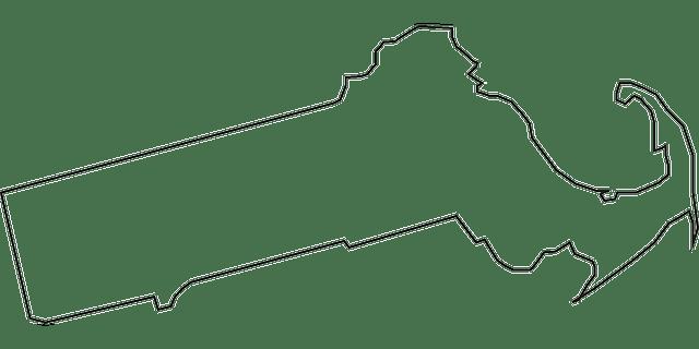 massachusetts mapa