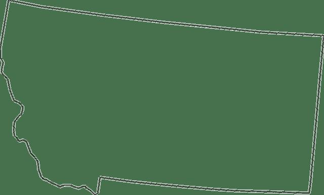 montana mapa