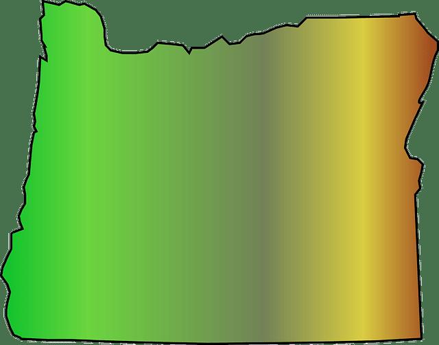 oregon mapa